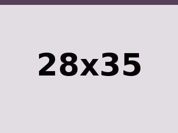 28x35 cm