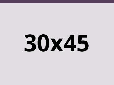 30x45 cm