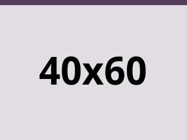 40x60 cm