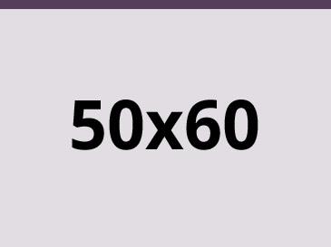 50x60 cm