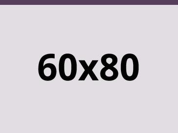 60x80 cm