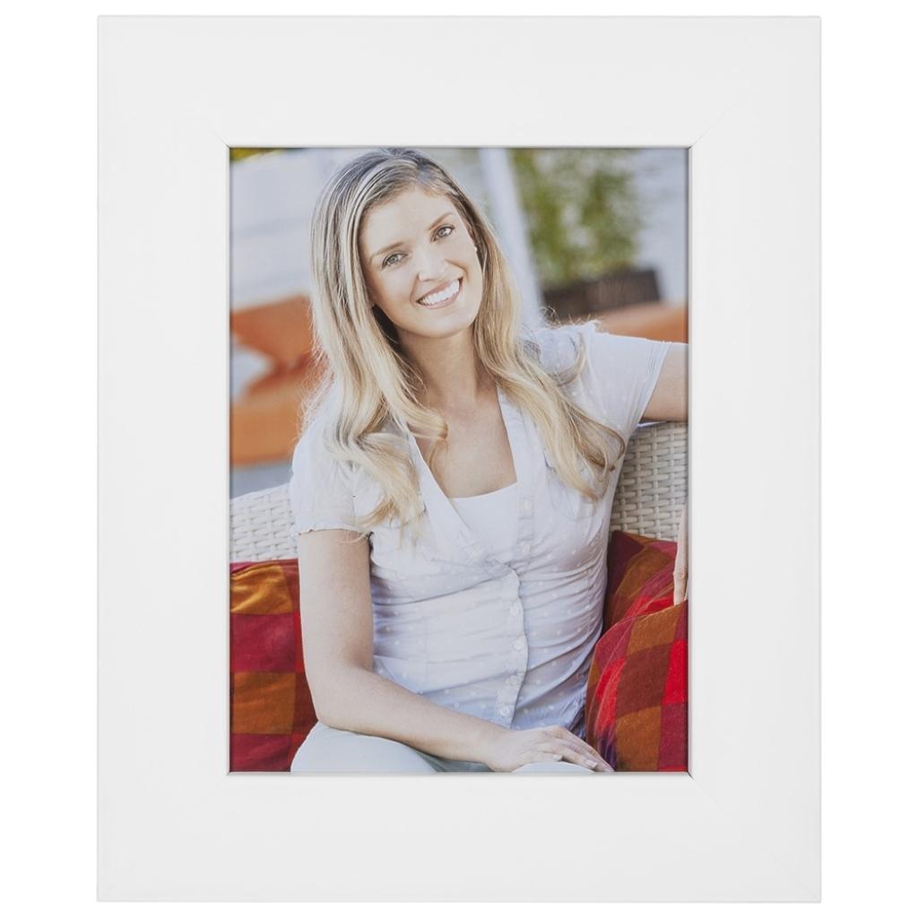 Fotolijst Strak Wit, 40mm breed