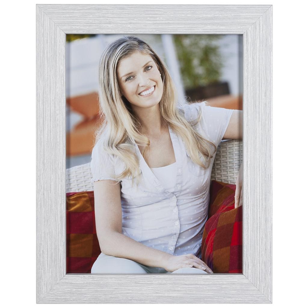 Wit/zilver-fotolijst-55-60-13x13