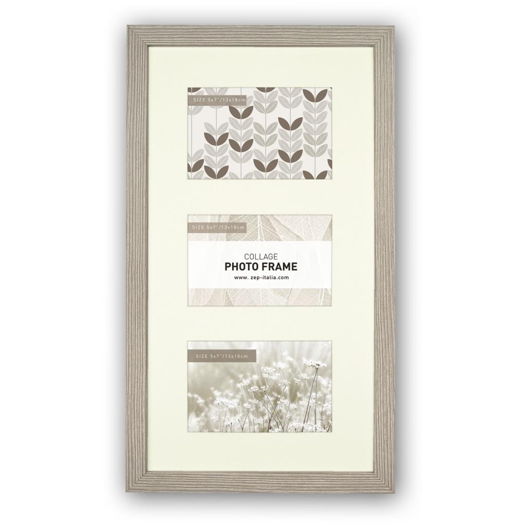 Elba collagelijst grijs voor 10x15 foto`s