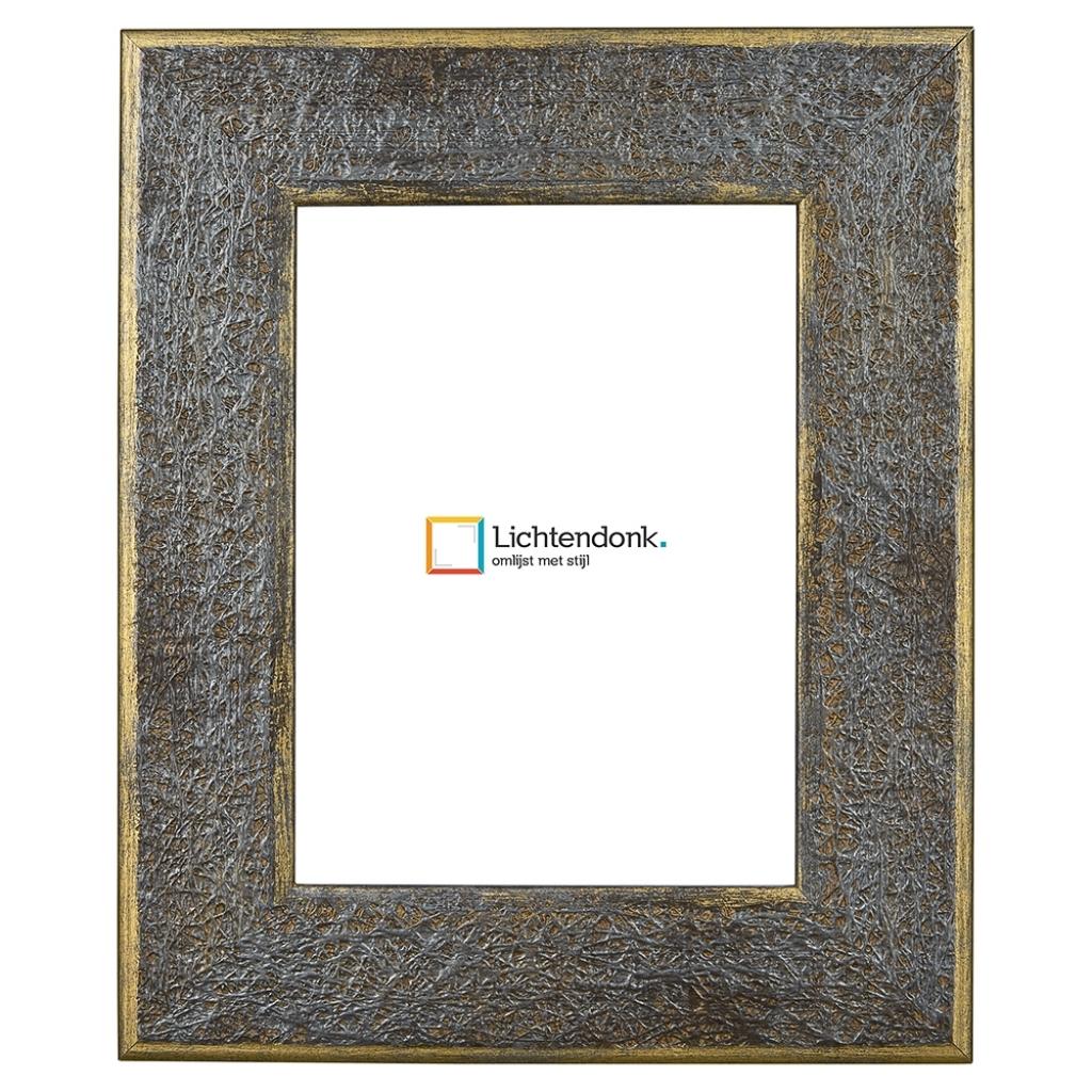 Lichtendonk Fotolijst Brons Blauw 50x70