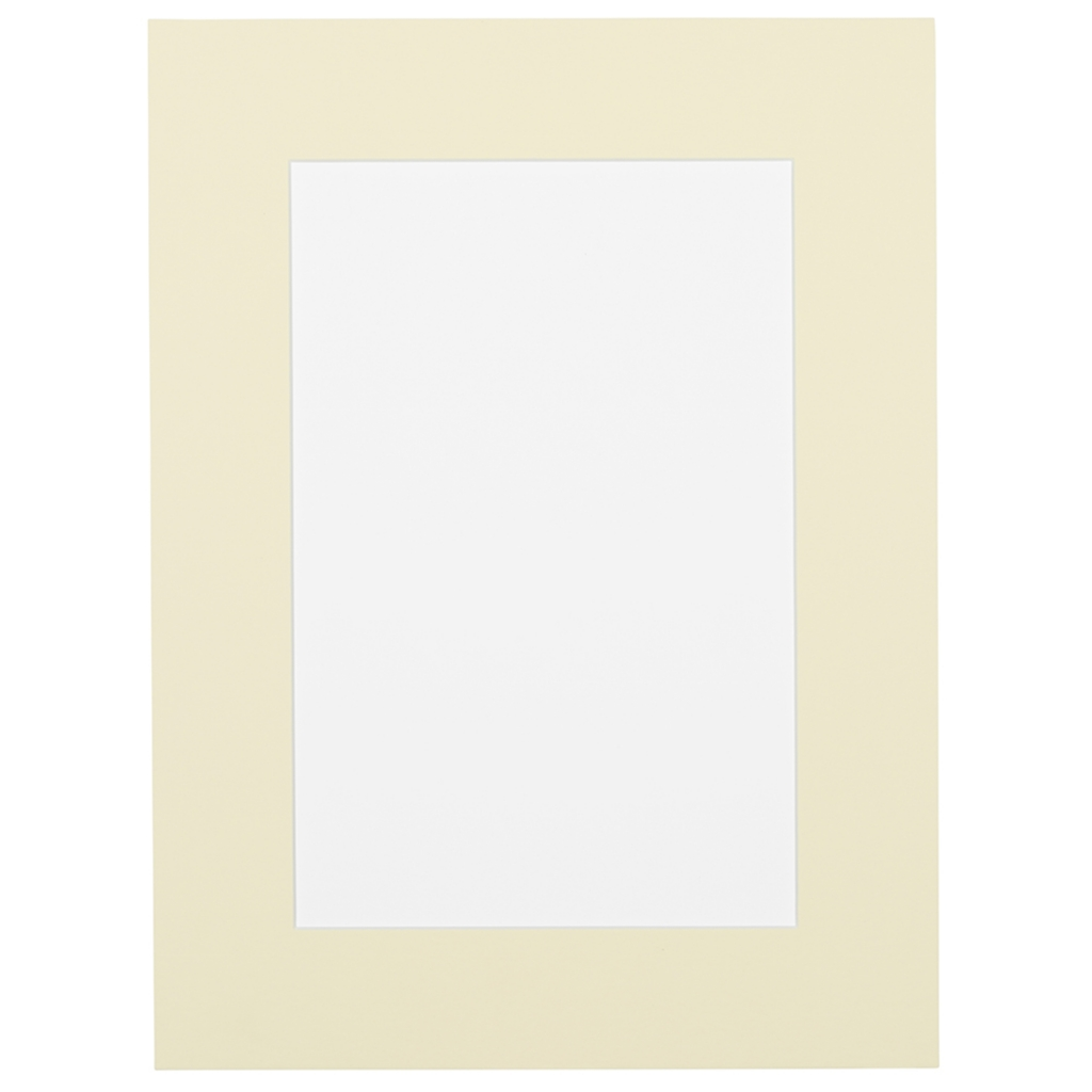 Extra Creme Passepartout met witte kern