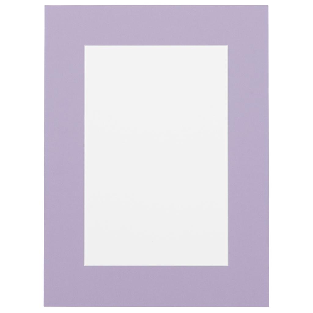 Lavendel Passepartout met witte kern