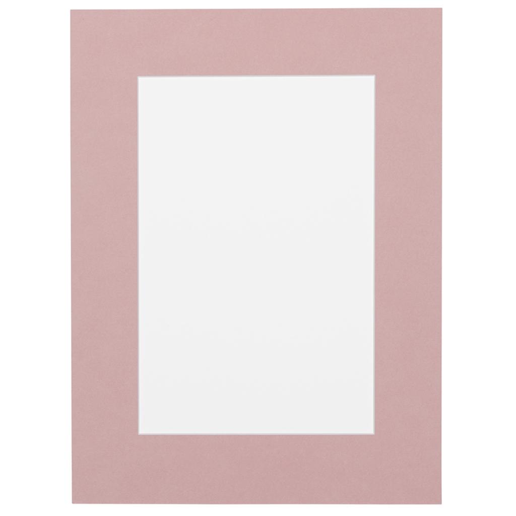 Roze Passepartout met witte kern