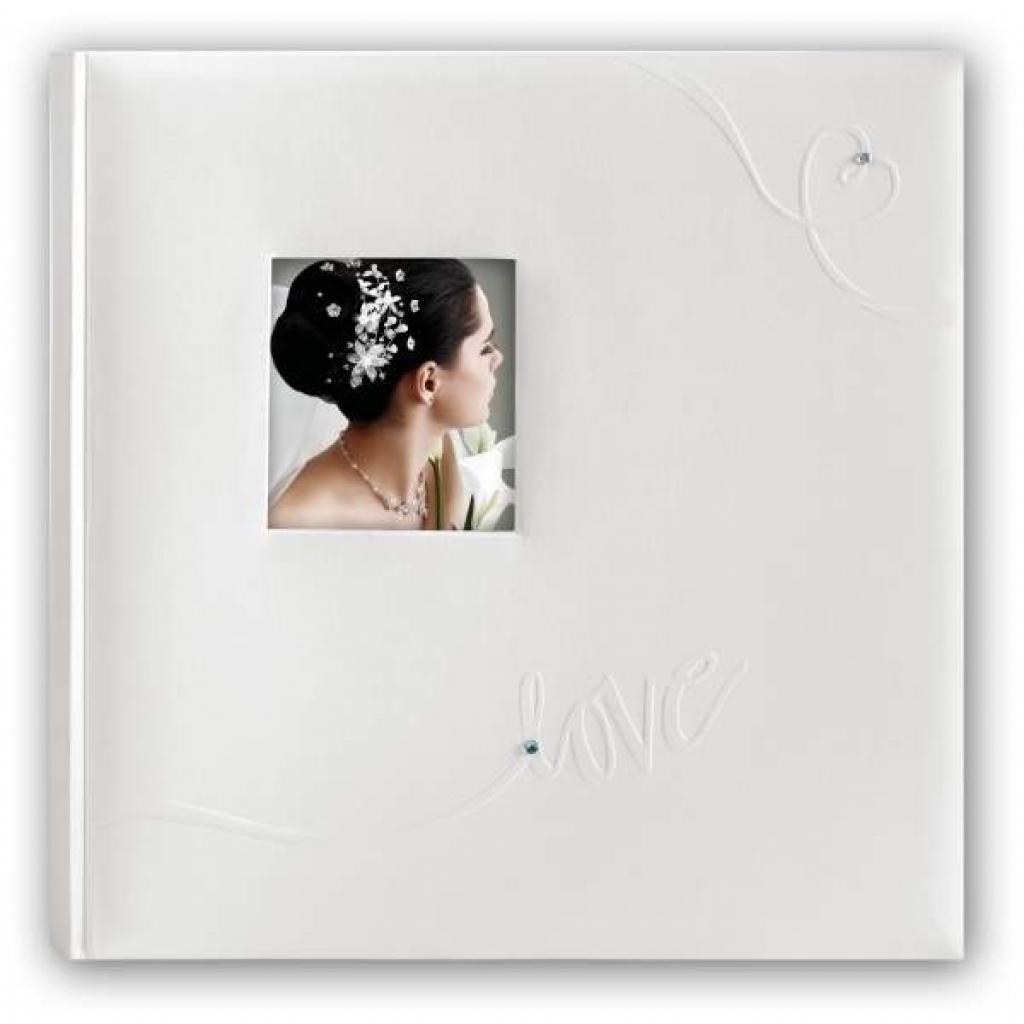 Fotoalbum Love - Trouwalbum - Parelmoer Wit - 50 pagina's