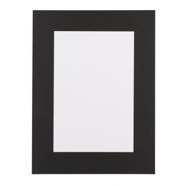 Zwart Passepartout met zwarte kern