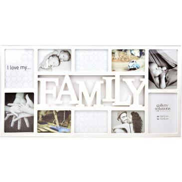 Collage fotolijst Family 6x 10x15 4x 13x18 foto