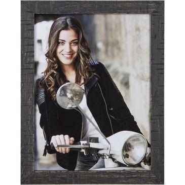 Fotolijst Zwart - Wrakhout - 16mm breed