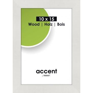 Fotolijst Accent Wood Wit - A4 21x29,7