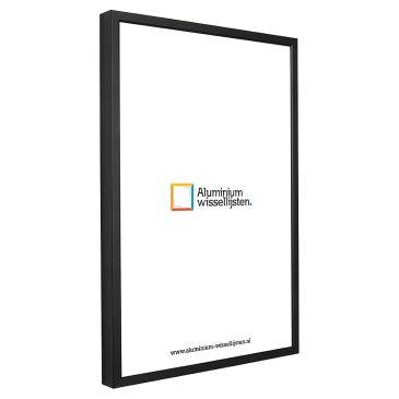 Aluminium Wissellijst Zwart - Professional
