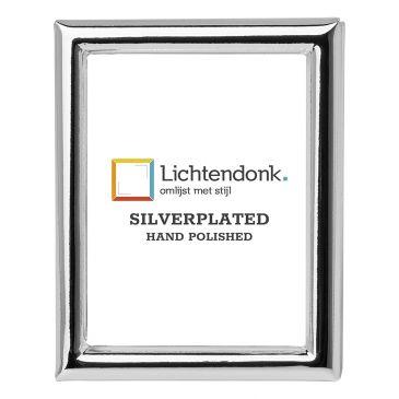 Silverplated Fotolijst Palermo - Pasfoto 4x5