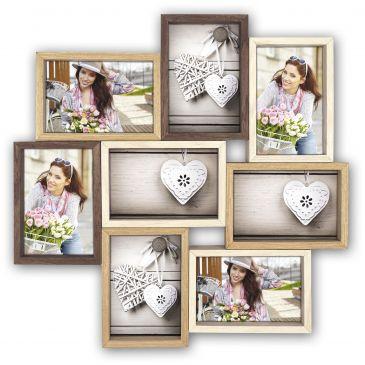 Collage fotolijst Montreaux 8x 10x15 foto