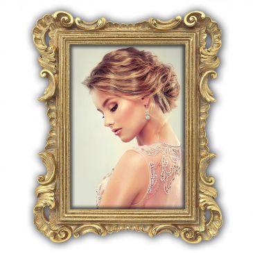 Gouden Ornament / Barok fotolijst - fotomaat 13x18 - Nyon