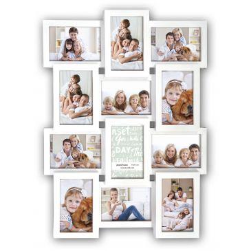 Collage fotolijst White 12x 10x15 foto