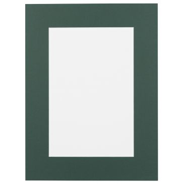 Jenever groen / donkergroen Passepartout met witte kern