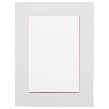 Wit met rode kern Passepartout