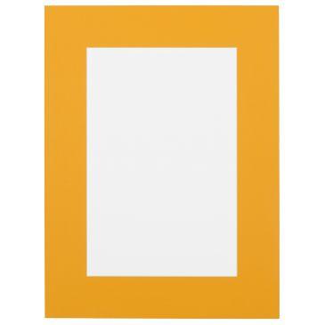 Oranje Passepartout met witte kern