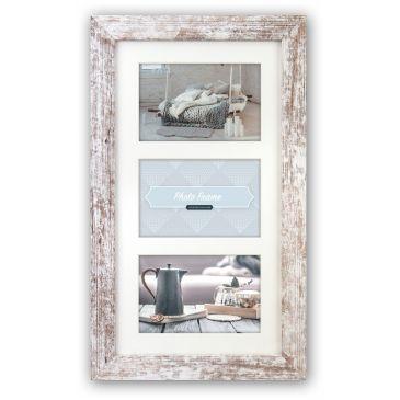 Collagelijst met passepartout - 3x 13x18 foto