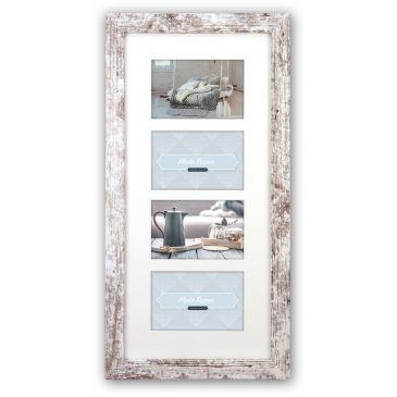 Collagelijst met passepartout - 4x 10x15 foto