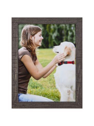 Fotolijst Bruin - Wrakhout -16mm breed