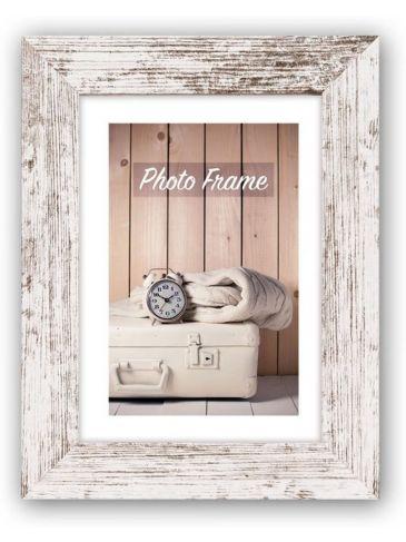 ZEP - Nelson 6 wit/bruin 20x30 houten fotolijst
